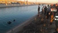 GÖBEKLİTEPE - Şanlıurfa'da Otomobil Sulama Kanalına Uçtu
