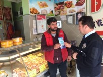 Siirt Polisi Esnafa Broşür Dağıttı