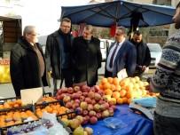 HALITPAŞA - Tarım Müdürlüğü Üretici Pazarını Denetledi