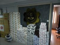 Yalova'da Kaçak Sigara Operasyonu Açıklaması 5 Gözaltı