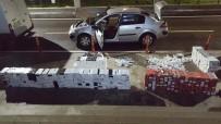 POLİS MERKEZİ - 18 Günde 3,3 Milyonluk Kaçak Malzeme Ele Geçirildi