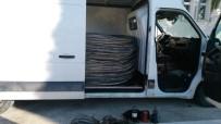 MOBESE - 25 Bin Liralık Bakır Teli Çalan Hırsız Jandarmadan Kaçamadı