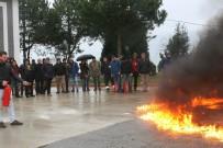 3 Yangın Felaketi Yaşayan Arsin OSB Çalışanlarına Yangın Eğitimi Verildi