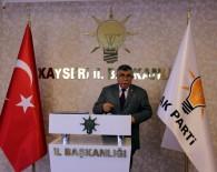AK Parti Kayseri Milletvekili Sami Dedeoğlu Açıklaması