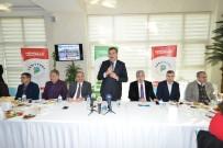 RECAİ KUTAN - Bakan Tüfenkci, Yeşilyurt Kültür Sarayı Projesini İnceledi