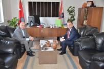 EMNİYET MÜDÜRÜ - Başkan Saraoğlu'ndan Emniyet Müdürü Tosun'a Teşekkür Ziyareti