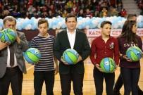 RAMAZAN YıLMAZ - Denizli'de 5 Bin Öğrenciye Karne Hediyesi 5 Bin Basket Topu