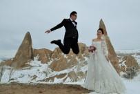 Düğün Fotoğrafı İçin Kapadokya'ya Akın Ediyorlar