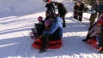 Ergan Dağı'nda Kayak Sezonu Açıldı