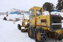 Erzincan'da 32 Köy Yolu Ulaşıma Kapandı