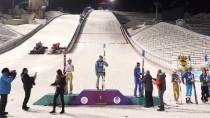 ERZURUM VALISI - FIS Kıtalararası Kayakla Atlama Yarışları