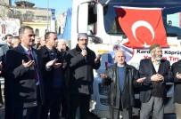 KURU BAKLİYAT - Gemlik'ten Suriye'ye 23. Yardım TIR'ı