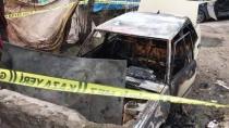 Karabükte, Park Halindeki Otomobil Yandı