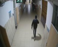 KAMERA - Karaman'da Okuldan Hırsızlık Şüphelisi Güvenlik Kamerasından Yakalandı