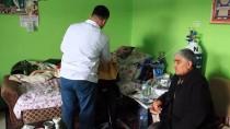 HÜSEYİN ÇELİK - Köy Köy Gezip Engelli Ve Yatalak Hastaları Tıraş Ediyor