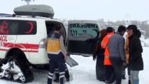 KALP HASTASI - Köydeki Hastaya Paletli Ambulansla Ulaşıldı