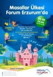 Masallar Ülkesi Yarıyıl Tatilinde Forum Erzurum'da