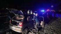 Niğde'de Zincirleme Trafik Kazası Açıklaması 4 Yaralı