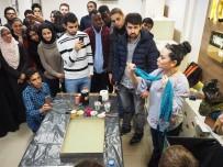 Osmangazi Üniversitesi'nde 'Ebru Sanatı Atölye Çalışması'