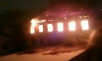 PETERSBURG - Rusya Askeri Deniz Akademisi'nde Yangın