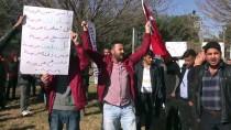 Suriye Sınırında PYD/PKK Protestosu