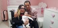 Tekerlekli Sandalyeyle Gittiği Hastaneden Bebeği İle Çıktı