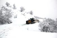 Tunceli'de Kar Nedeniyle 165 Köye Ulaşım Sağlanamıyor