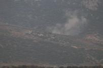 ASKERİ ARAÇ - Afrin'deki Hedeflere Top Atışı Yapıldı