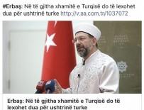 Balkan halkından TSK'ya dua