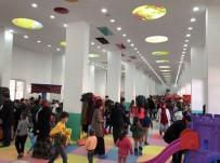 KAPALI ALAN - Çocuk Oyun Merkezine Yoğun İlgi