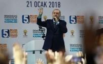 DEMİRYOLU PROJESİ - Erdoğan Açıklaması 'Bursa'yı Şaha Kaldırmadan Bize Dinlenmek Haramdır'