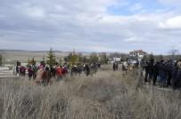 NECATI YıLMAZ - Eskişehir'deki Kazada Ölen Bir Kişi Ankara'da Toprağa Verildi
