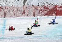 ERZURUM VALISI - FIS Snowboard SBX Dünya Kupası Heyecanı