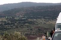 SINIR KARAKOLU - Kara Harekatının Başlangıç Bölgesi İHA Tarafından Görüntülendi