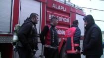 İTFAİYE ERİ - Zonguldak'ta Ev Yangını