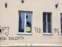 EYÜP SULTAN - PKK, Almanya'da camilere saldırdı