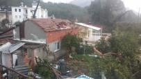 ŞİDDETLİ FIRTINA - Antalya'da Şiddetli Fırtına Ve Hortum