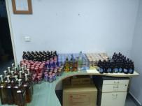 ALKOL SATIŞI - Araç Bagajında Alkol Satışına Polis Baskını