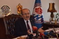 AVNI AKER STADı - Başkan Gümrükçüoğlu Yıkımı Süren Hüseyin Avni Aker Stadyumu'nun Yerine Yapılacak Projeyle İlgili Konuştu