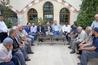 ŞAKIR YÜCEL KARAMAN - Başkan'ın Cuma Ziyaretleri Devam Ediyor