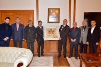 ALI KABAN - Başkan İnce Vali Kaban'a Esnafların Sorunlarını Anlatarak Destek İstedi