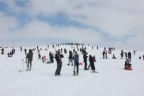KAYAK SEZONU - Bingöl'de Geç De Olsa Kayak Sezonu Açıldı