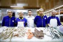 BALIK TÜRÜ - Düden Balık Çarşısı'na Yoğun İlgi