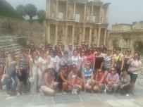 AYASOFYA MÜZESI - Efes'e Ziyaretçi Sayısı Bir Milyona Yaklaştı