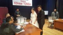 TONGA - Gelinlikle Oy Kullandı