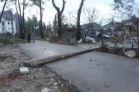ÇAMYUVA - Hortumun Vurduğu Kemer Toparlanmaya Çalışıyor