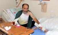 YÜKSEK GERİLİM HATTI - İnşaat İşçisi Elektrik Çarpması Sonucu Yaralandı