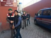 GESI - İnşaat Malzemeleri Çalan Hırsızlar Jandarmaya Yakalandı