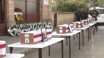LEFKOŞA - KKTC'de 8 Kayıp Şehit 54 Yıl Sonra Defnedildi