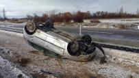 BENGÜ - Konya'da Otomobil Takla Attı Açıklaması 4 Yaralı